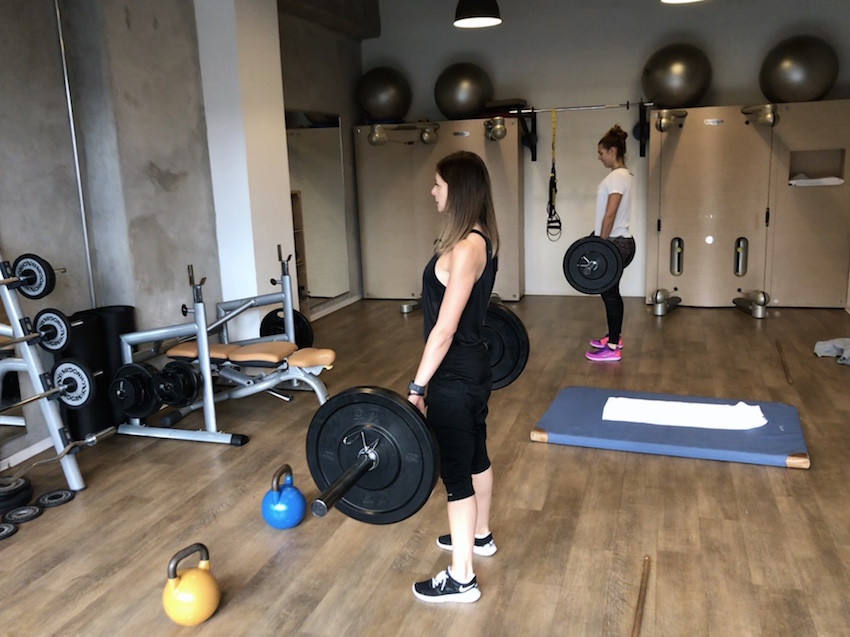 Galerie - Personal Training im Trainingslager