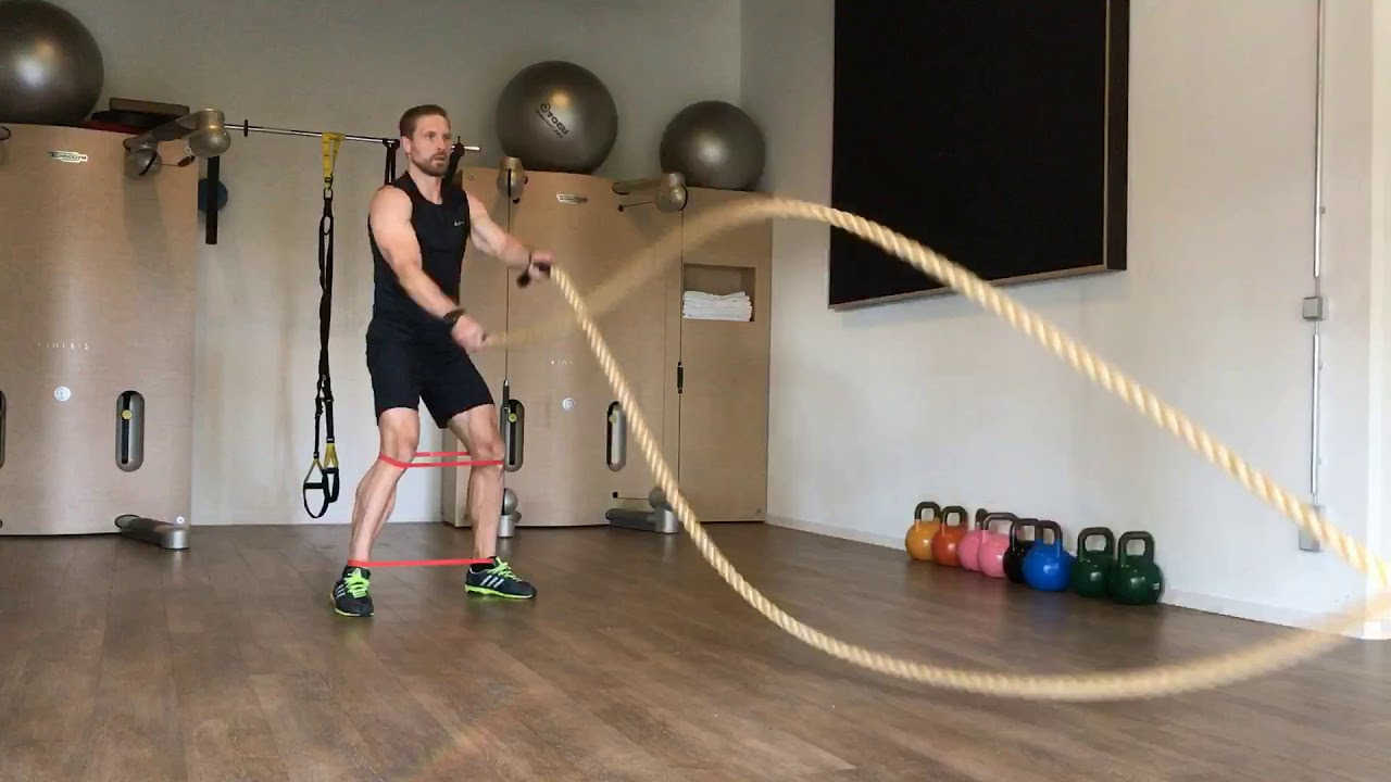 Raphael Jesse from Trainingslager Berlin : Rope exercise
