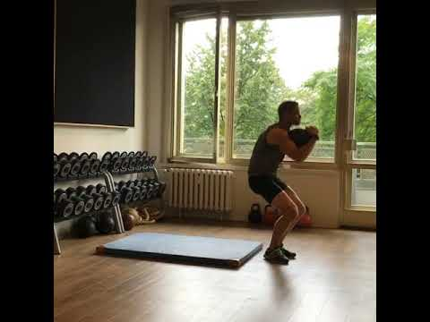Raphael Jesse from Das Trainingslager: Heart rate exercise