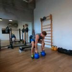 Raphael Jesse from Das Trainingslager : Version of Push up