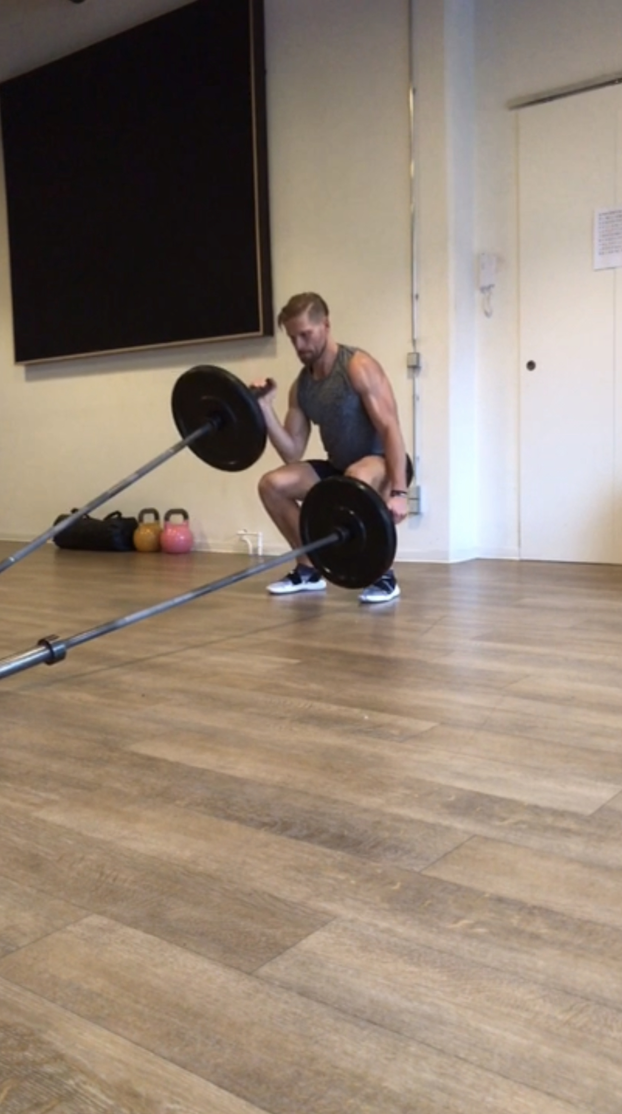 Double Landmine Workout -Galerie