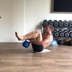 Raphael Jesse from Das Trainingslager: core workout
