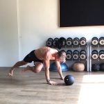 Raphael Jesse from Das Trainingslager: abs workout